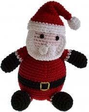 Gehäkelter Weihnachtsmann