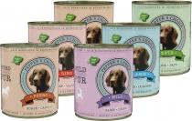 Probierkorb Hundefutter Fleisch PUR 6 x 800 Gramm Dosen